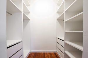 walk in fitted wardrobe