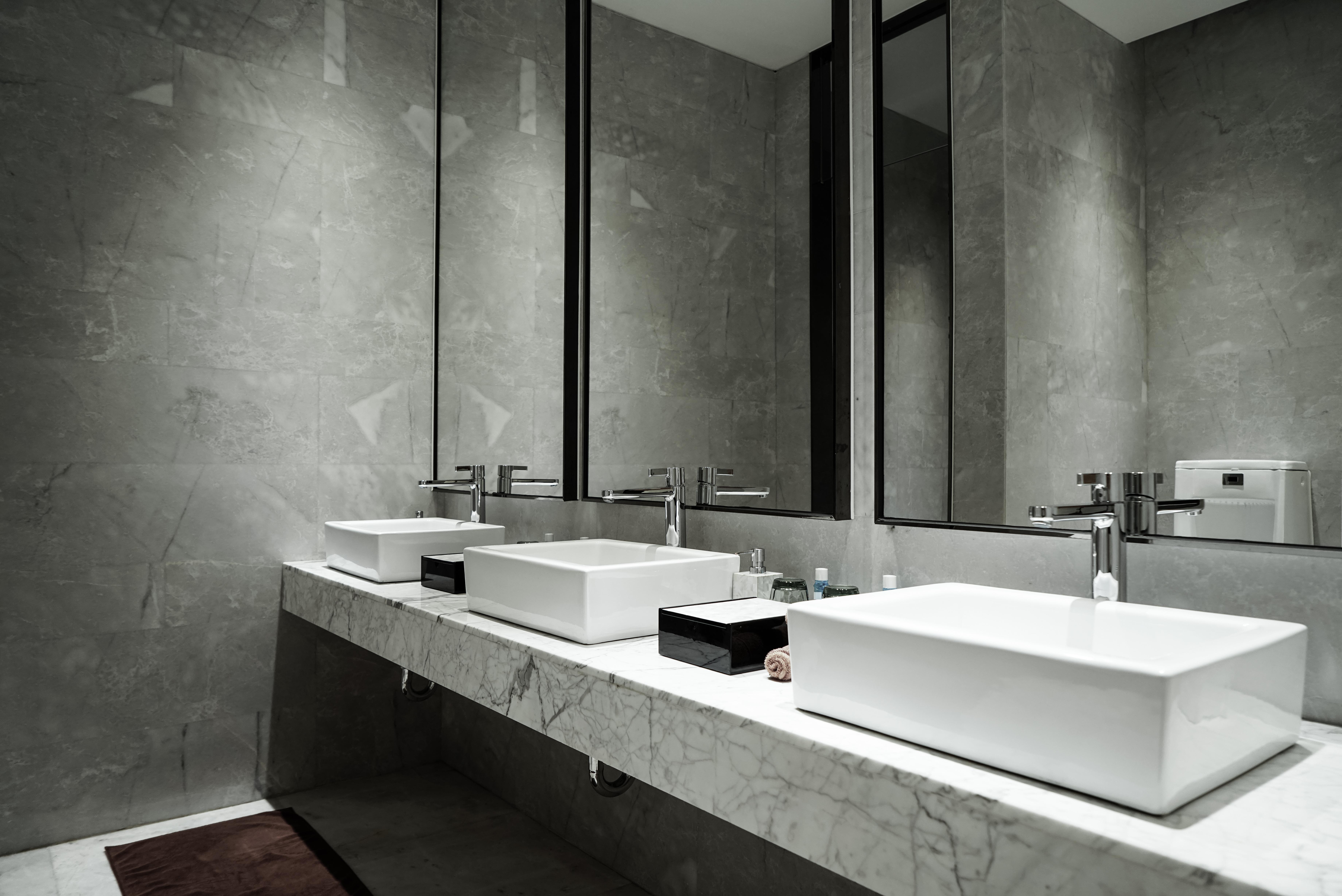 restroom vanity units